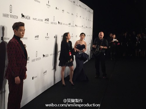 TOP - amfAR Charity Event - Red Carpet - 14mar2015 - smilesproduction - 03