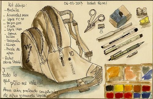 Mi kit de dibujo