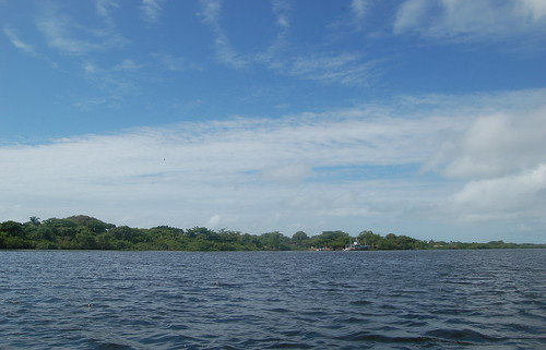 Das weitere Ufer der Lagune