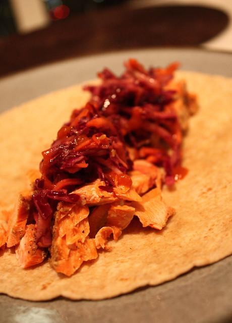 Cajun Salmon Tacos