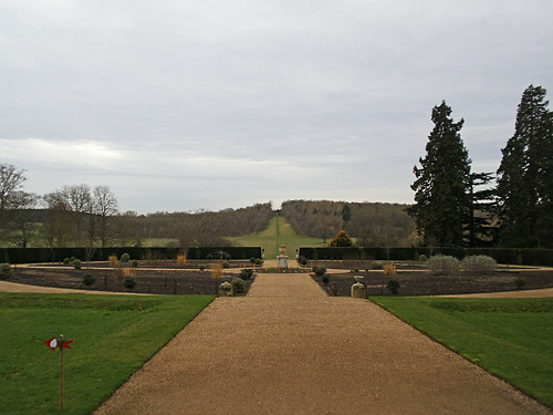 Ragley Hall. Winter Garden Walk