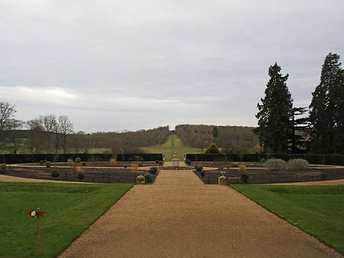 Ragley Hall. Winter Garden Walk