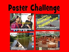 Some of the Contributions to the 2013 Responsible Travel Week Poster Challenge