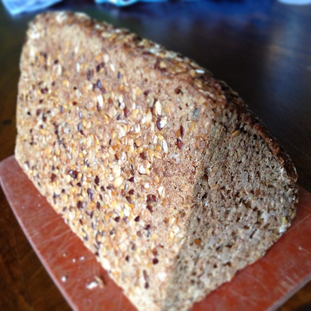 Triangular German Whole/MultiGrain Bread