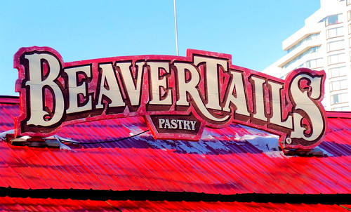BeaverTails hut at Confederation Park