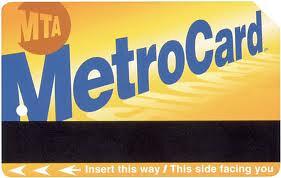 Tarjeta Metrocard para el metro de Nueva York