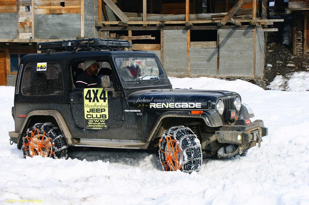 Muzaffarabad Jeep Club Neelum Snow Cross - 8470914255 d9b88fd8af b