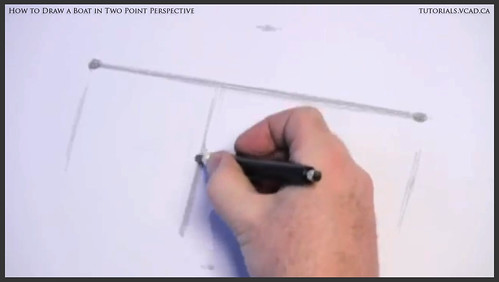 learn how to draw a boat in two point perspective 001