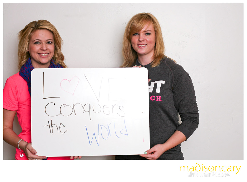 love conquers the world antibullying campaign photo shoot