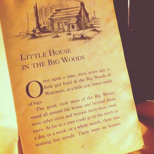 Little House on the Prairie Read-a-long!