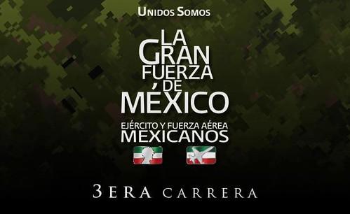 Inscripciones agotadas a la 3ra Carrera La Gran Fuerza de México