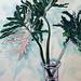 呂浩元‧蔓綠絨‧油彩、 畫布‧91x72.5cm‧ 2012