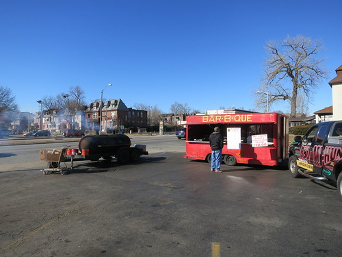 BBQ Truck/Trailer Jamaican in North St. Louis, Missouri