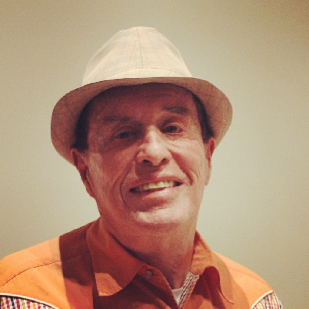 Met the 86-year old video artist Kenneth Anger today at Kunstmuseum Bonn. Such a delight!
