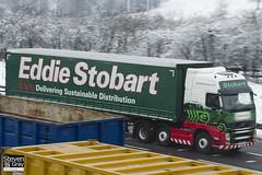 Volvo FH 6x2 Tractor - PX11 BWN - Marietta Celina - Eddie Stobart - M1 J10 Luton - Steven Gray - IMG_2064