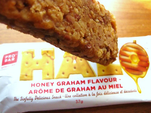 Honey Graham Bar // Halo by ProBar by VeganBananas