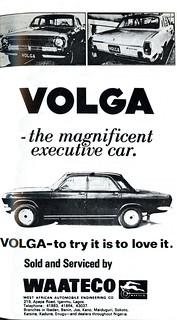 Guide to Lagos 1975 013 volga the executive car waateco
