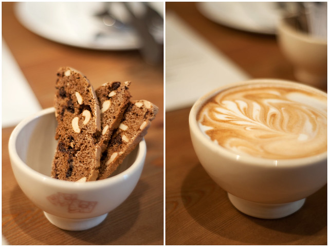Biscotti Coffee Collage