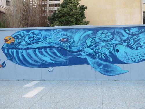 Underwater Scene: Mural