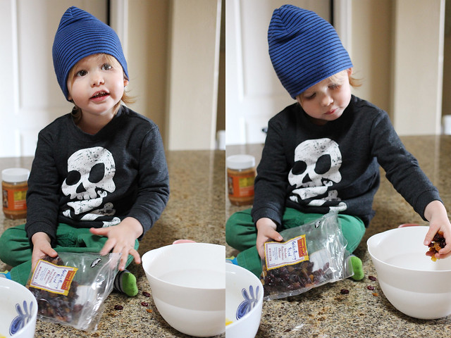 Making muffins with Henry 2/21/13