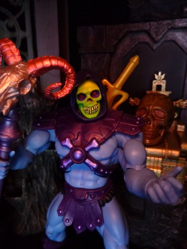 Skeletor In Snake Mountain