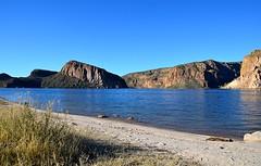 Canyon Lake Beach View