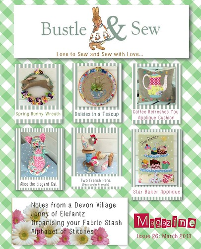 Bustle & Sew Magazine March 2013