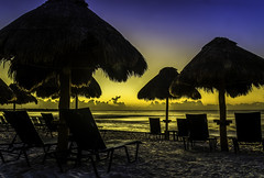 [Free Images] Beach / Coast, Sunrise / Sunset, Resort, Landscape - Mexico ID:201303021600