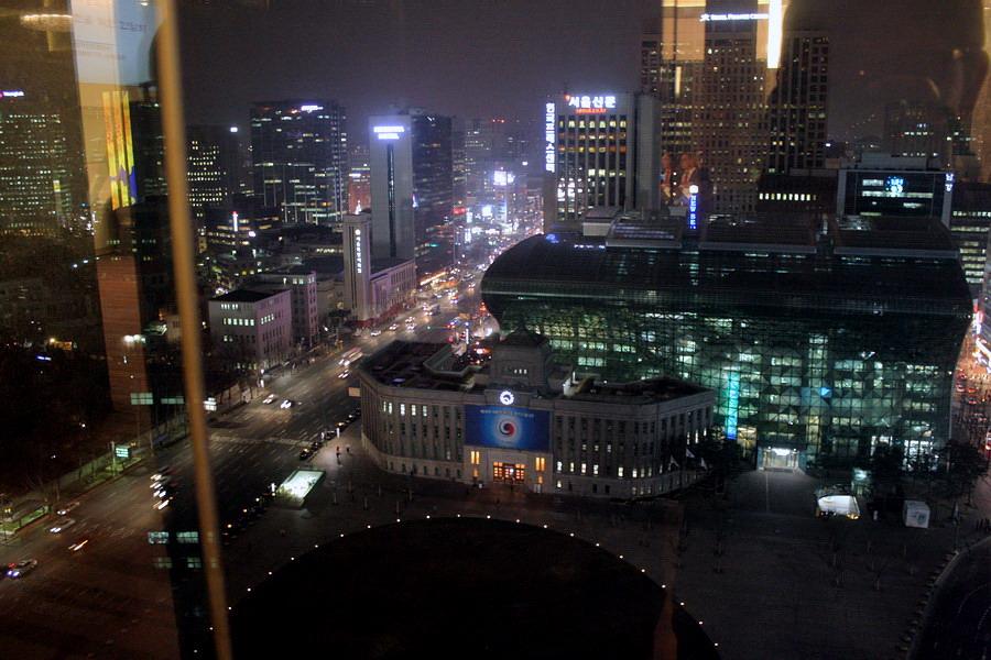 Seoul bird view(night)