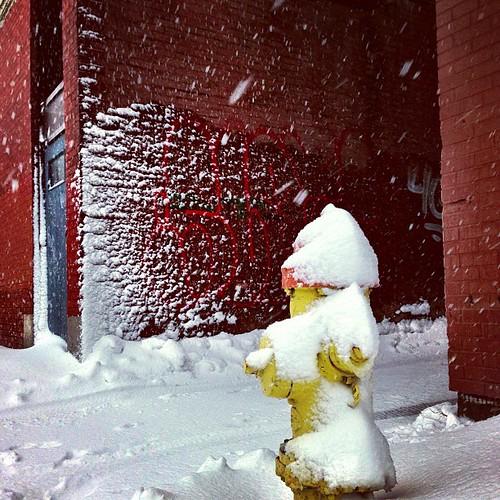 Snow hydrant