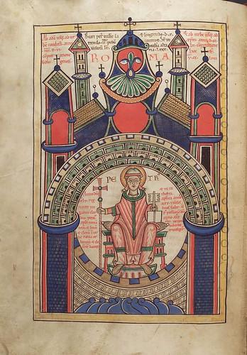 018-Liber floridus – siglo XII- © Herzog August Bibliotek