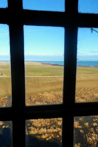 View from bedroom at Lindisfarne Castle
