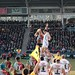 Small photo of Nick Easter secures the lineout...