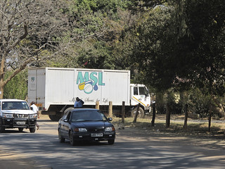 MSL truck delivers to Choma Hospital
