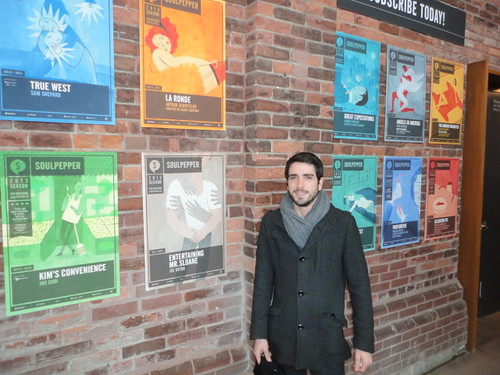 Joel Levy from Toronto is Awesome at Soulpepper theatre
