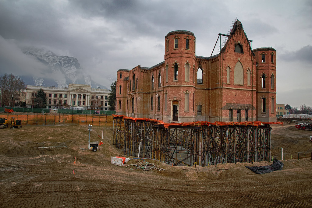 Provo City Center Construction Utah Projects