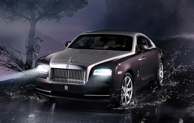 2014 Rolls-Royce Wraith front
