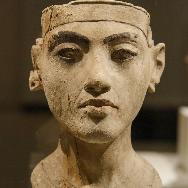 The Pharaoh Akhenaten