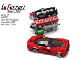 Ferrari LaFerrari Berlinetta + 6.3 Litre V12 (KERS)