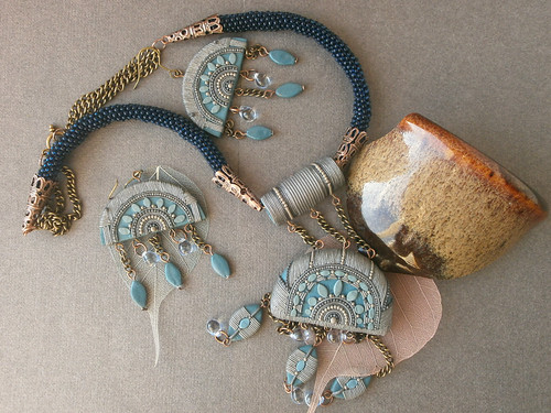 Jewelry set named chief of rain