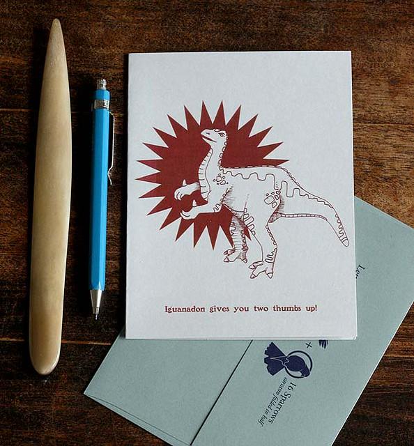 Iguanodon Card