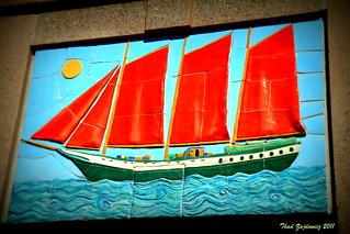Norfolk Sailing Ship