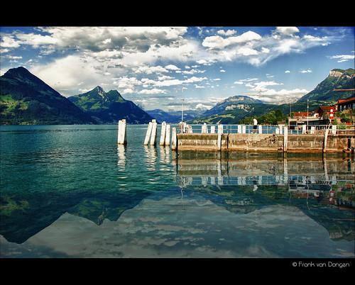 sky lake mountains topf25 clouds canon see topf50 topf75 meer topf100 hdr vierwaldstättersee switserland lakelucerne jpegs watmooi