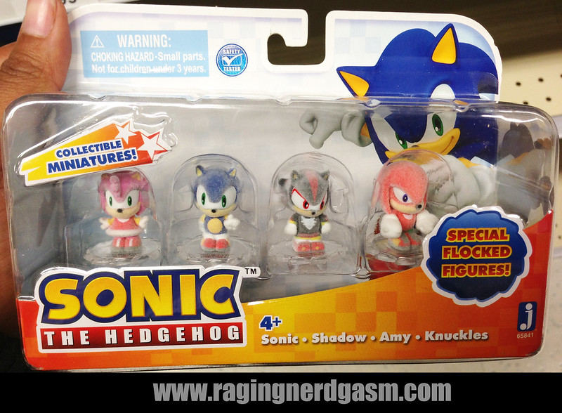 Sonic The Hedgehog Special Flocked Figures by Jazwares