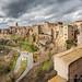 Cityscape of Pitigliano by Alessandro Argentieri