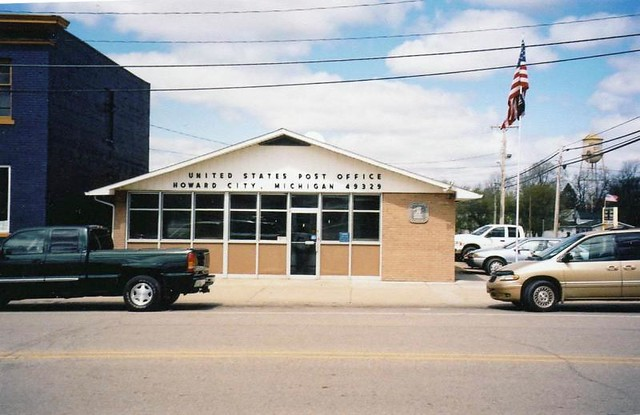Howard City Mi Post Office Flickr Photo Sharing