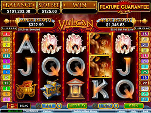 Vulcan slot game online review