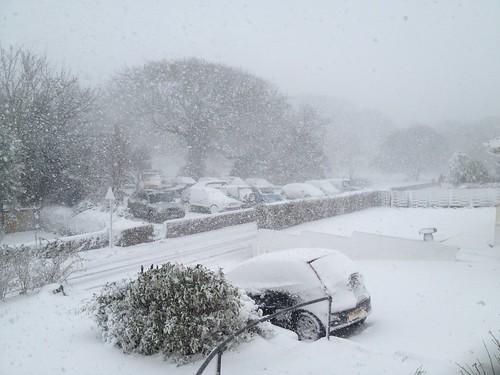 Guernsey snow!