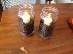 Coffee Bean Candles