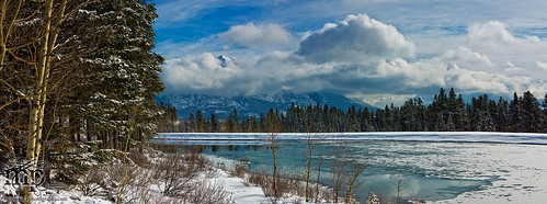 2013-03-04: Melt, Spray Lakes, Canmore AB